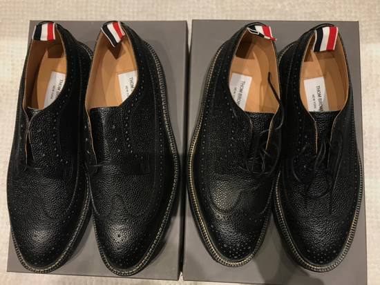 Thom Browne Classic Brogues with Gum Sole in Pebble Grain Size US 7 / EU 40 - 1