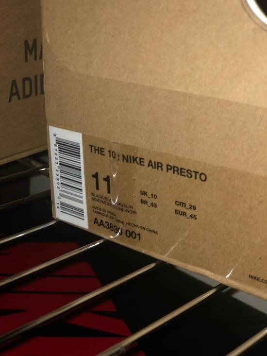Nike NIKE X OFF WHITE PRESTOS Size US 11 / EU 44 - 4