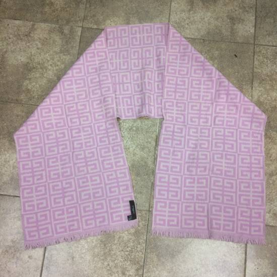 Givenchy Givenchy Monogram Logo Pink Scarves Size ONE SIZE - 2