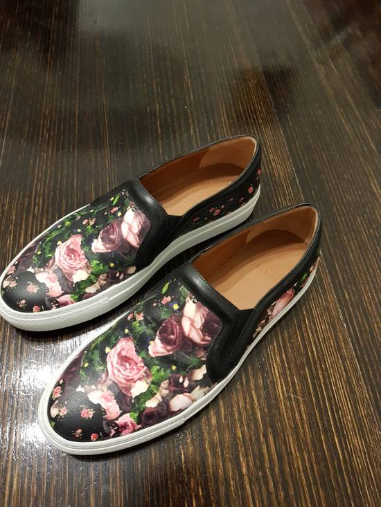 Givenchy SS14 floral slip on sneakers Size US 7 / EU 40
