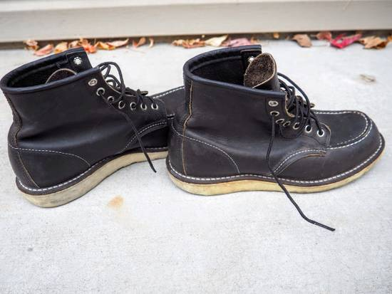 Red Wing FINAL PRICE DROP / Red Wing 9075 Classic Moc Toe Boot in Black Size US 8 / EU 41 - 5