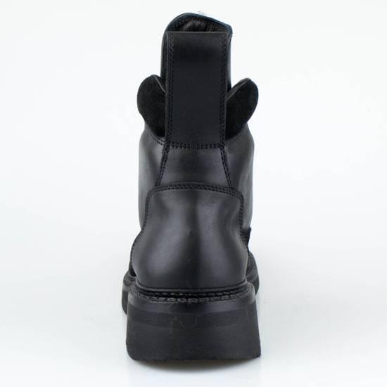Julius 7 Black Cow Nubuck Leather Ankle Boots Shoes Size US 11 / EU 44 - 3