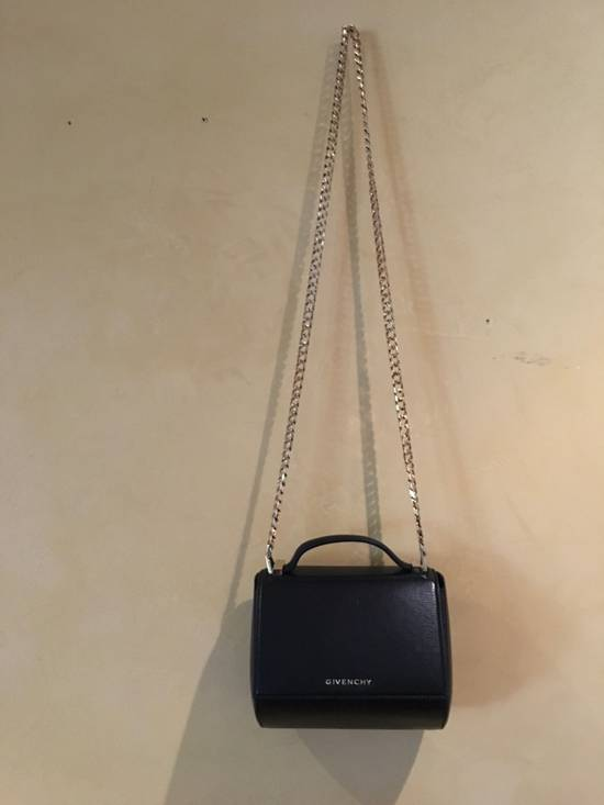 Givenchy Givenchy Pandora Box Mini Leather Chain Crossbody Bag Size ONE SIZE