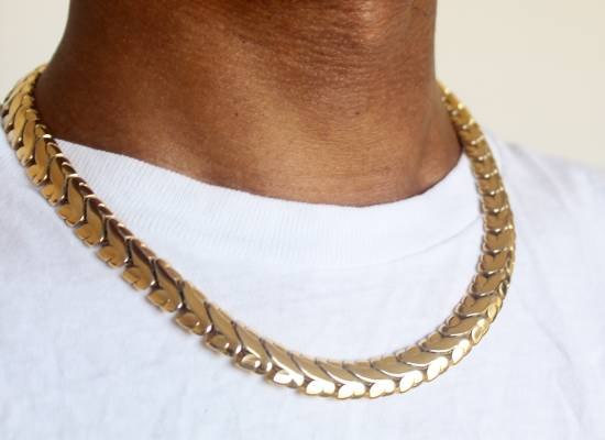Givenchy Gold Plated Serpentine Chain Size ONE SIZE - 2