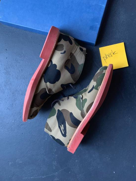 Mark Mcnairy New Amsterdam Mark McNairy x A Bathing Ape Forest Green Camo Chukka Boot Size US 8.5 / EU 41-42 - 2