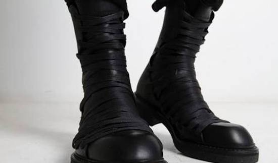 Julius Overlaced Boots Size US 7.5 / EU 40-41 - 1