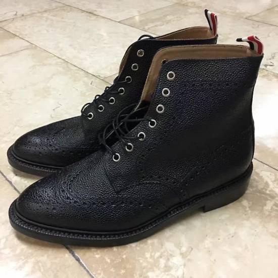 Thom Browne THOM BROWNE classic Leather Boots Size US 11 / EU 44 - 2