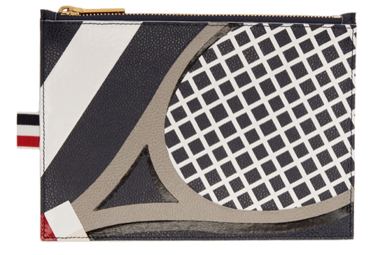 Thom Browne Thom Browne TENNIS POUCH ***navy_$820 obo_large_DEADSTOCK*** Size ONE SIZE