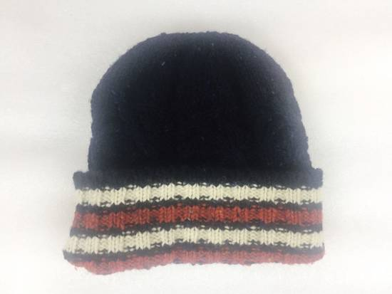 Thom Browne Thom Browne Navy Blue Beanie Donegal Beanie Cable Knit Wool Size ONE SIZE - 2