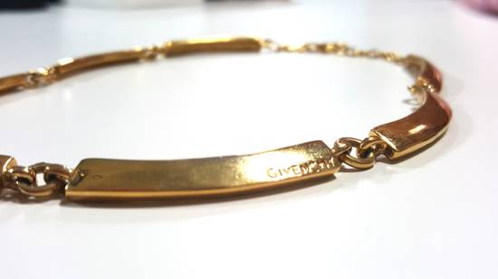 Givenchy Necklace gold plated square chain Size ONE SIZE - 2