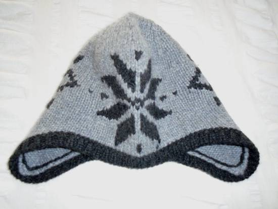 Thom Browne Cashmere Grey Snowflake Hat NEW Size ONE SIZE - 1