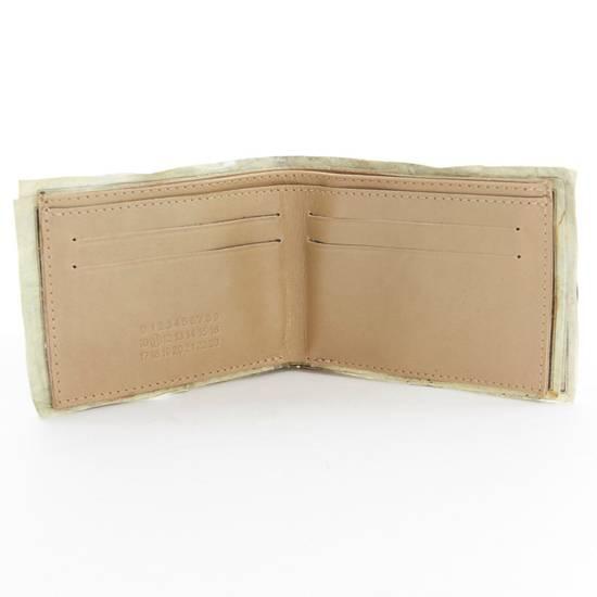 Maison Margiela MARTIN MARGIELA $11 dollar bill elastic band bifold leather wallet Size ONE SIZE - 6