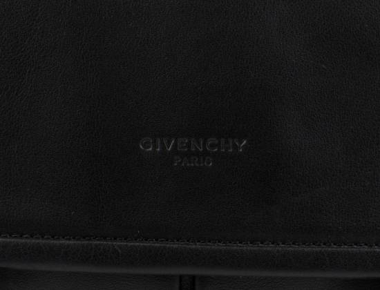 Givenchy Men's Black Obsedia Leather Messanger Briefcase Size ONE SIZE - 4