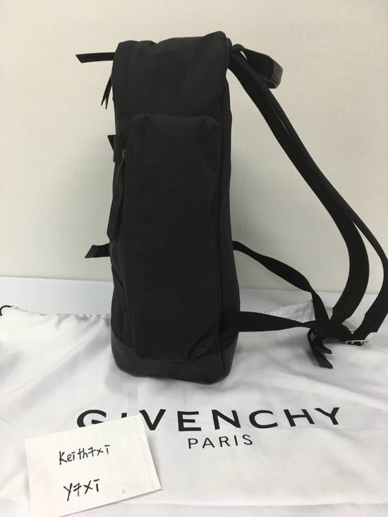 Givenchy Givenchy Logo Printed Backpack Size ONE SIZE - 4