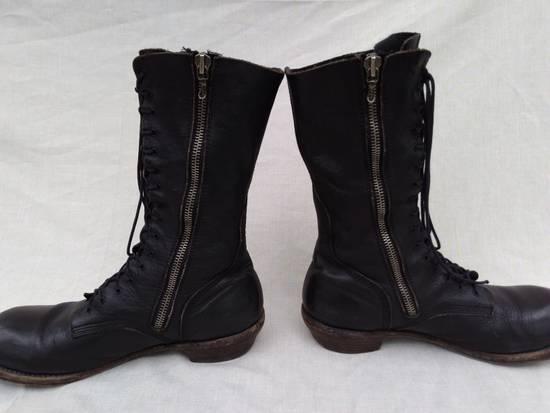Julius f/w09 Tall Combat Boots Black Size US 11 / EU 44 - 6