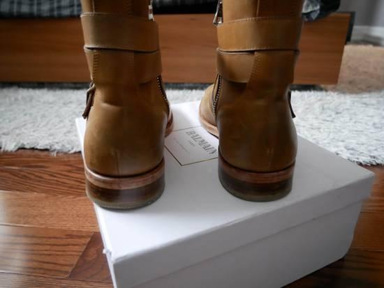 Balmain Balmain Steel Toe Boots Sz 44 (US 11) Size US 11 / EU 44 - 4