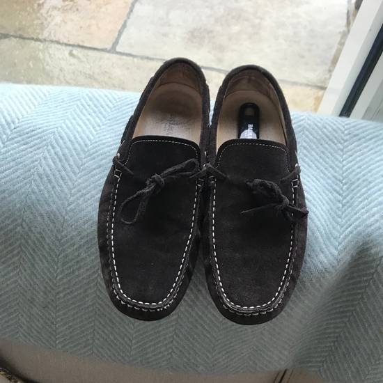Balmain Balmain Brown Suede Driving Loafers Size US 8.5 / EU 41-42 - 4