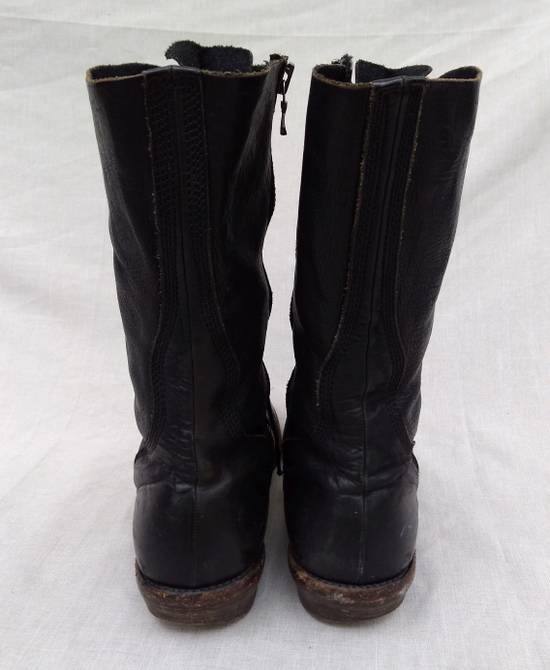 Julius f/w09 Tall Combat Boots Black Size US 11 / EU 44 - 8