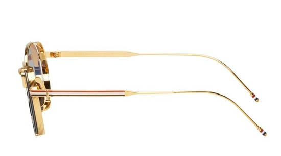 Thom Browne Thom Browne TB-106 18k GOLD Sunglasses Size ONE SIZE - 2