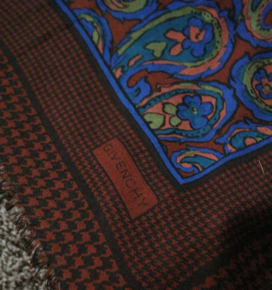 Givenchy Vintage Paisley Silk Scarf Size ONE SIZE - 4