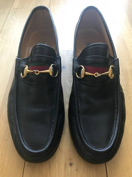 fd5f38dad2588 Gucci Gucci Vintage Horsebit Black Loafers Size 12 - Casual Leather ...
