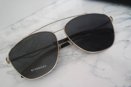 Givenchy NEW Givenchy 7049/S Oversized Double Bridge Aviator Sunglasses Size ONE SIZE - 5