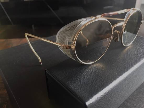 Thom Browne Thom Browne 12K Gold Aviator Sunglasses Size ONE SIZE - 2