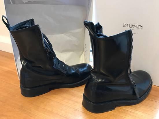 Balmain Giuseppe Zanotti double zippers leather boots Size US 10 / EU 43 - 3