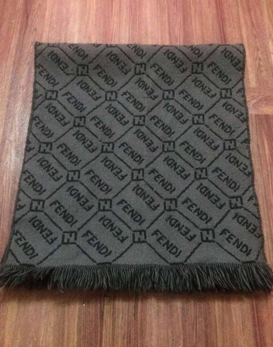 58f8416518c ... promo code fendi rare vintage fendi zucca monogram made in italy full  all over scarves mufflers