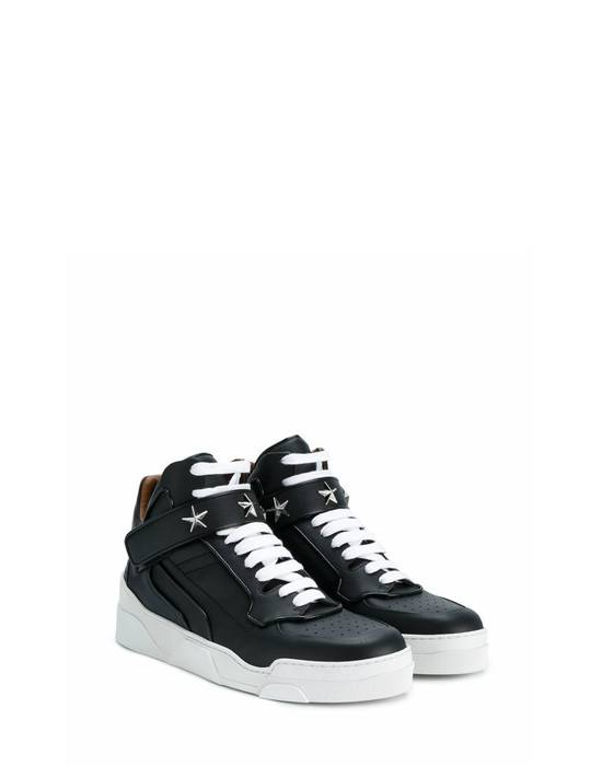 Givenchy Givenchy Tyson Star Embelisshed Hi Sneakers - Black (Size - 45) Size US 12 / EU 45 - 1