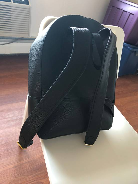 Thom Browne THOM BROWNE DIAGONAL STRIPE LEATHER BACKPACK Size ONE SIZE - 1