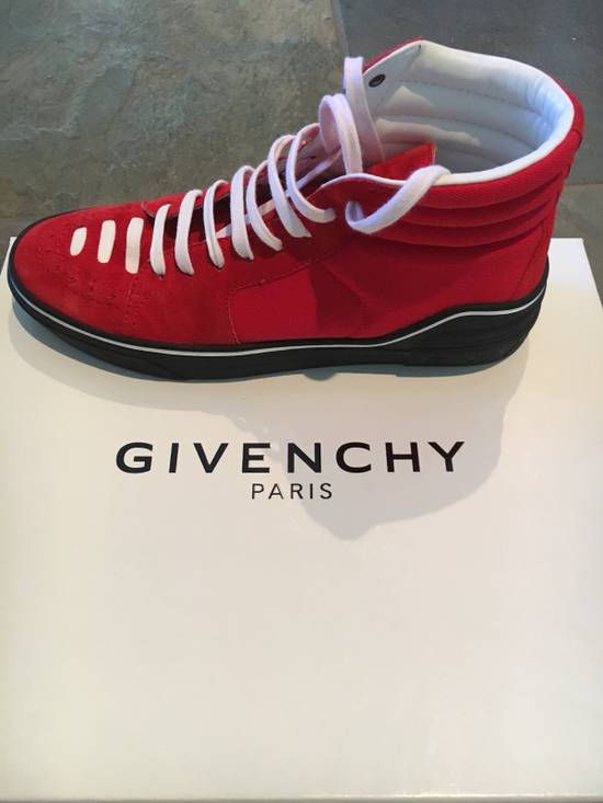 Givenchy Red Givenchy High Tops Size US 7.5 / EU 40-41