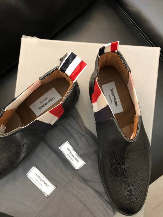 Thom Browne Pebbles Leather Chelsea Boot Size US 7 / EU 40 - 3