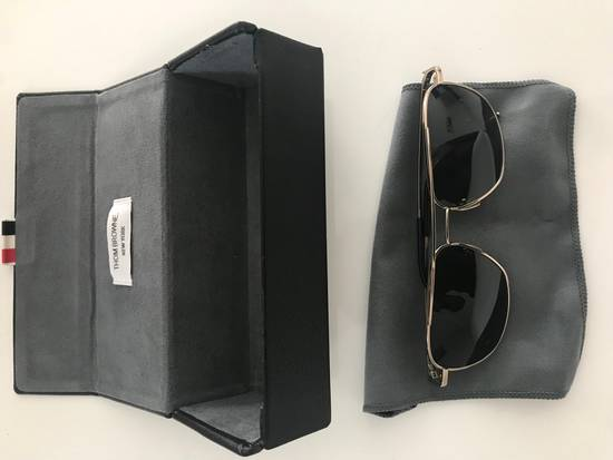 Thom Browne Thom Browne Gold Sunglasses Size ONE SIZE