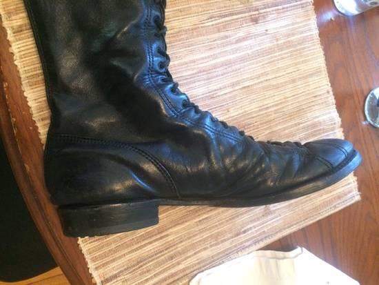 Julius Back Zip Horse Boots Sz3 Size US 11 / EU 44 - 5