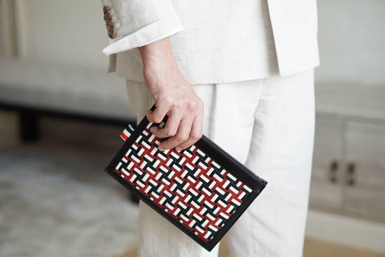 Thom Browne Clutch Size ONE SIZE