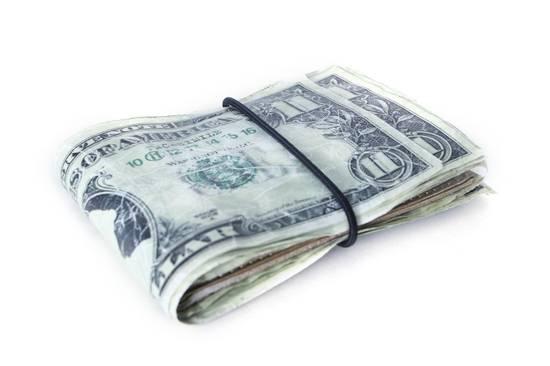 Maison Margiela rare MAISON MARTIN MARGIELA $11 dollar bill elastic band bifold leather wallet Size ONE SIZE - 3