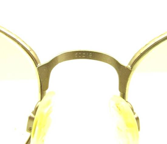 Givenchy Givenchy 90s NOT GOLD Tortoise Gunmetal Round Vintage Frames Eyeglasses Sunglasses Size ONE SIZE - 3
