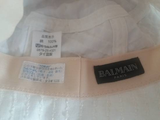 Balmain Balmain Paris Hat cream colour Size ONE SIZE - 5