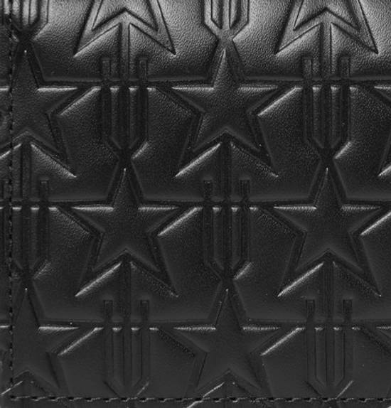 Givenchy Star-Embossed Leather Cardholder Size ONE SIZE - 3