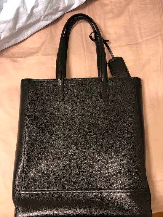 Thom Browne pebble grain leather tote bag Size ONE SIZE - 2