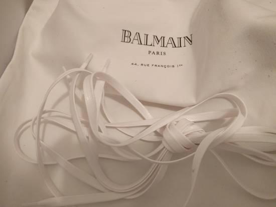 Balmain NEW Balmain Leather and Suede Hi-Top Sneakers Size US 9 / EU 42 - 4