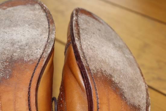 allen edmonds ae strand walnut brogue size 9 5 formal shoes for