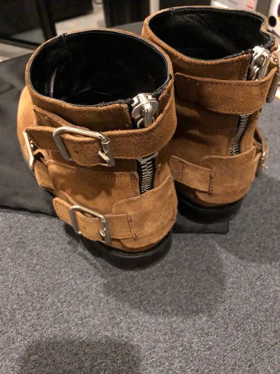 Balmain Brown Suede Boots Size US 8.5 / EU 41-42 - 2