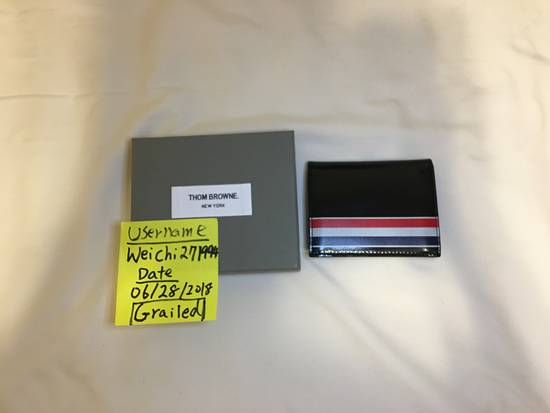 Thom Browne Thom Browne Card holder / Wallet Size ONE SIZE
