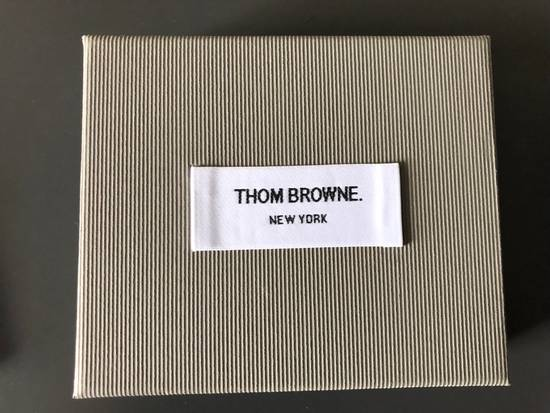 Thom Browne White Patent Leather Card Holder Size ONE SIZE - 4