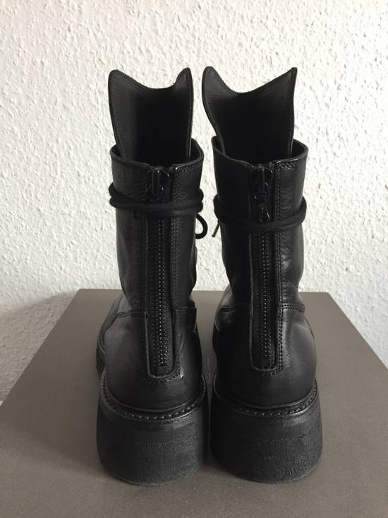 Julius AW16 Void Military Combat Crepe Boots Size US 10 / EU 43 - 4