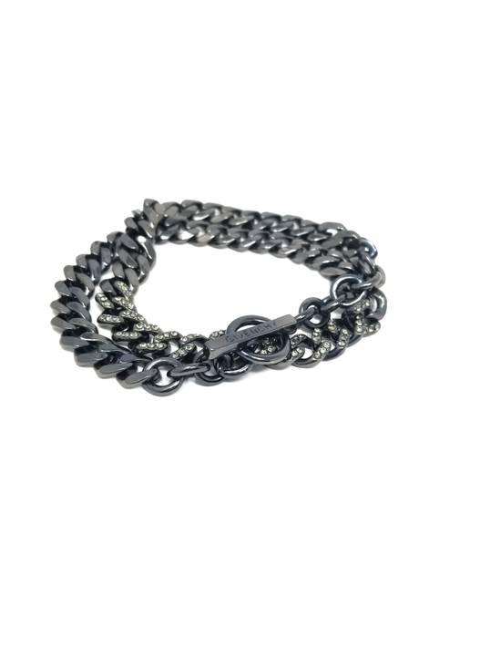Givenchy Gunmetal curb toggle bracelet/necklace Size ONE SIZE