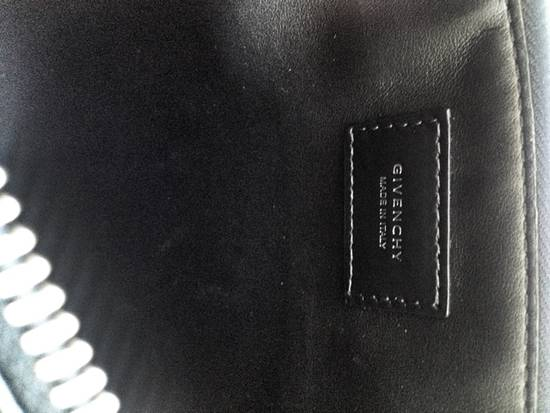 Givenchy Double Zipper Leather Pouch Size ONE SIZE - 4
