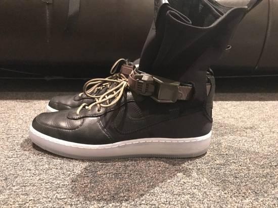 Nike AF1 Downtown Hi SP Black/black-medium olive Size US 9.5 / EU 42-43 - 2